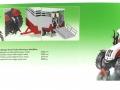 Siku 3870 - Steyr mit Viehanhänger Karton hinten