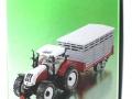Siku 3870 - Steyr mit Viehanhänger Karton Seite