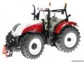 Siku 3870 - Steyr mit Viehanhänger Traktor links