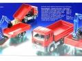 Siku 3920 LKW mit Raupenbagger Karton hinten