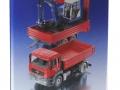Siku 3920 LKW mit Raupenbagger Karton Seite