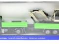 Siku 3920 LKW mit Raupenbagger Karton vorne
