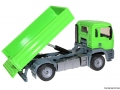 Siku 3920 LKW mit Raupenbagger beim Kippen hinten