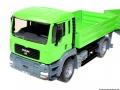 Siku 3920 LKW mit Raupenbagger vorne links