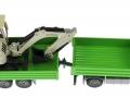 Siku 3920 LKW mit Raupenbagger oben links