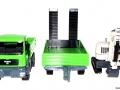 Siku 3920 LKW mit Raupenbagger alle in Reihe