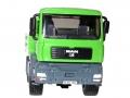 Siku 3920 LKW mit Raupenbagger vorne Details