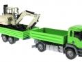 Siku 3920 LKW mit Raupenbagger vorne rechts