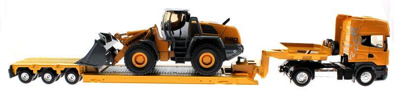 Siku 3933 - Scania R620 mit Radlader Liebher 580