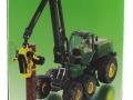 Siku 4059 - John Deere Harvester Karton Seite