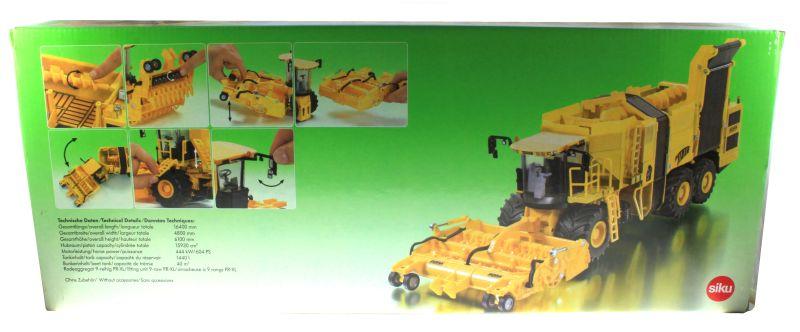 Siku 4060 - Rübenroder Euro Tiger XL Karton hinten