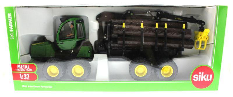 Siku 4061 - John Deere Forwarder Karton vorne