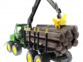 Siku 4061 - John Deere Forwarder hinten links