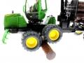 Siku 4061 - John Deere Forwarder Rad auf Baumstamm
