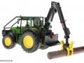 Siku 4063 - John Deere Forsttraktor hinten links