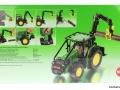 Siku 4063 - John Deere Forsttraktor Karton hinten
