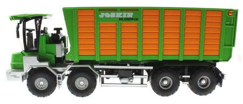 Siku 4064 - Joskin Silospace Cargo Track mit Ladewagen links