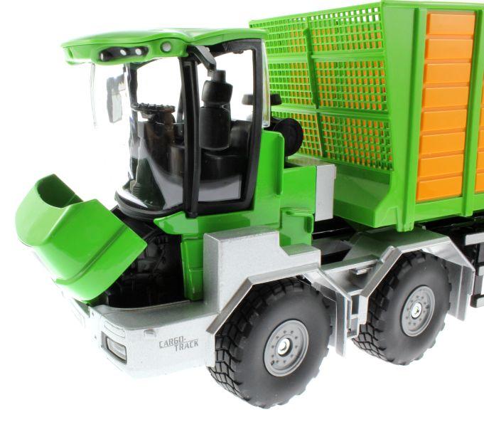 Siku 4064 - Joskin Silospace Cargo Track mit Ladewagen Motor