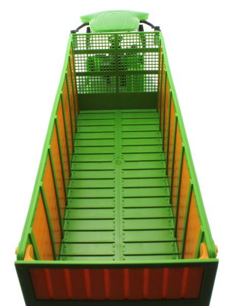 Siku 4064 - Joskin Silospace Cargo Track mit Ladewagen oben hinten