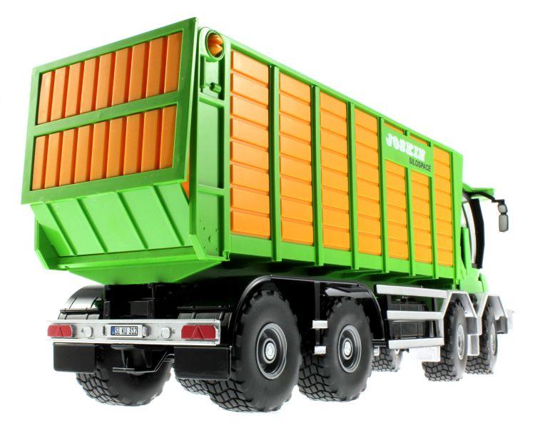 Siku 4064 - Joskin Silospace Cargo Track mit Ladewagen unten hinten rechts