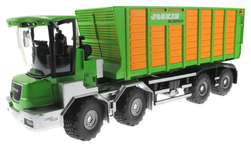 Siku 4064 - Joskin Silospace Cargo Track mit Ladewagen vorne links