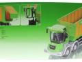 Siku 4064 - Joskin Silospace Cargo Track mit Ladewagen Karton hinten