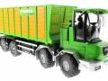 Siku 4064 - Joskin Silospace Cargo Track mit Ladewagen vorne rechts