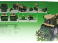 Siku 4066 - Krone BiG X 580 Maishäcksler Karton hinten