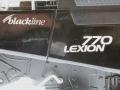 Siku 4258 - Claas Lexion 770 mit Raupenfahrwerk - Blackline Logo