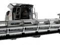 Siku 4258 - Claas Lexion 770 mit Raupenfahrwerk - Blackline unten vorne