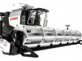Siku 4258 - Claas Lexion 770 mit Raupenfahrwerk - Blackline unten vorne rechts