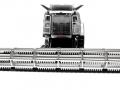 Siku 4258 - Claas Lexion 770 mit Raupenfahrwerk - Blackline vorne
