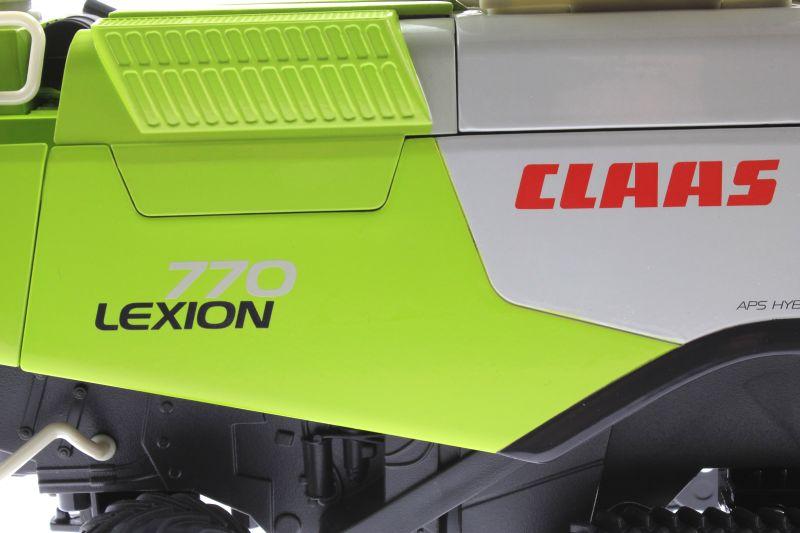 Siku 4258 - Claas Lexion 770 mit Raupenfahrwerk Logo