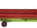 Siku 4258 - Claas Lexion 770 mit Raupenfahrwerk auf Transportwagen