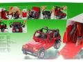Siku 4670 - Jeep mit Pferdeanhänger Karton hinten