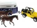 Siku 4670 - Jeep mit Pferdeanhänger oben rechts