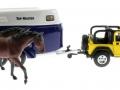 Siku 4670 - Jeep mit Pferdeanhänger