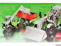 Siku 4851 - Claas Targo Karton hinten