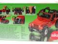 Siku 4870 - Jeep Wrangler Karton hinten