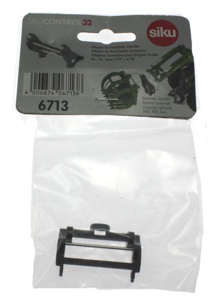 Siku 6713 - Adapter für Frontlader Zubehör für Control 32 John Deere und Fendt Karton