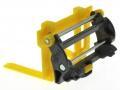 Siku 6713 - Adapter für Frontlader Zubehör für Control 32 mit Palettengbael gelb hinten