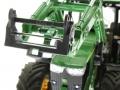 Siku 6713 - Adapter für Frontlader Zubehör an Control 32  Hohn Deere 7R nah