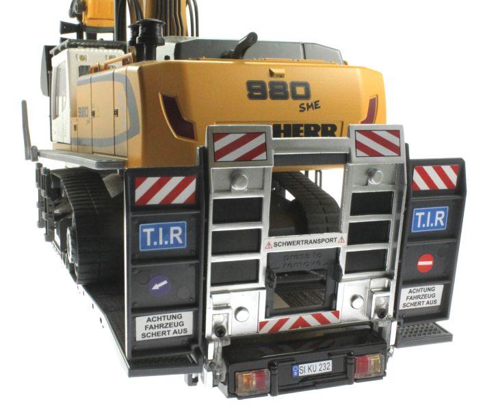 Siku 6714 - Zubehörset für Control 32 Tieflader und Zugmaschinen hinten nah