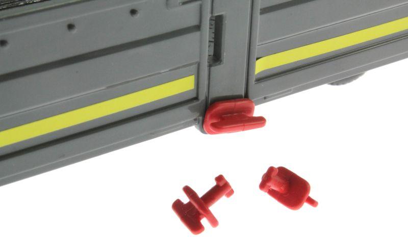 Siku 6714 - Zubehörset für Control 32 Tieflader und Zugmaschinen Wand Befestigung