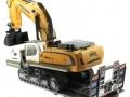 Siku 6714 - Zubehörset für Control 32 Tieflader und Zugmaschinen mit Bagger hinten