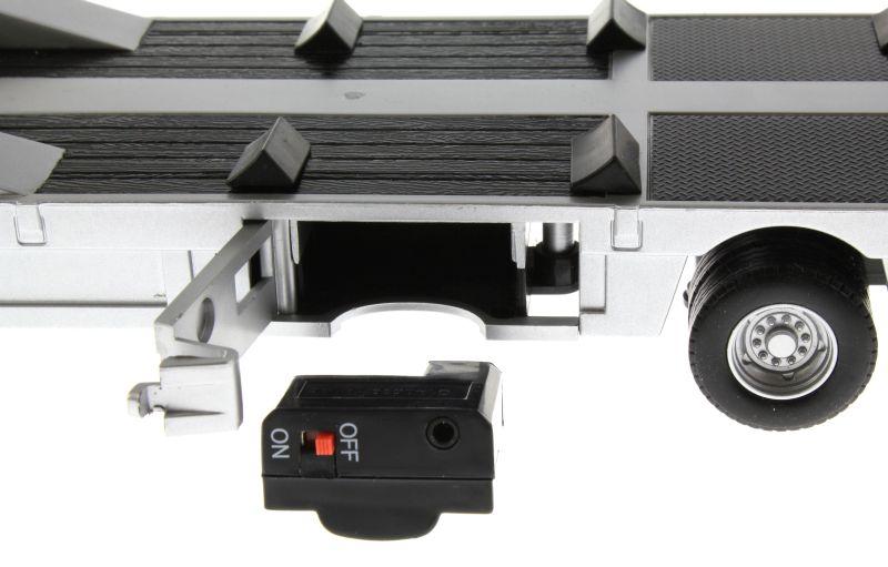 Siku 6723 - Elektronischer 3-Achs Auflieger Control-32 Akku
