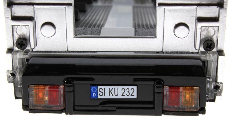 Siku 6723 - Elektronischer 3-Achs Auflieger Control-32 Nummernschild
