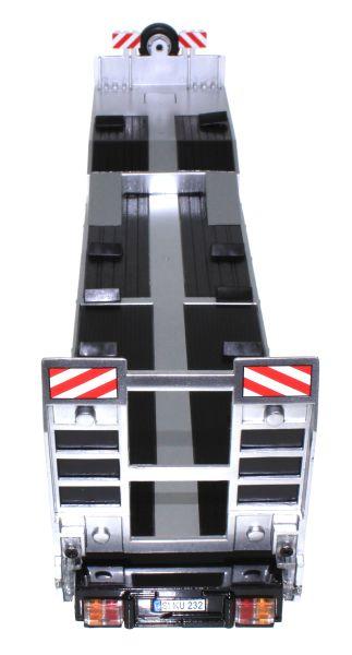 Siku 6723 - Elektronischer 3-Achs Auflieger Control-32 oben hinten