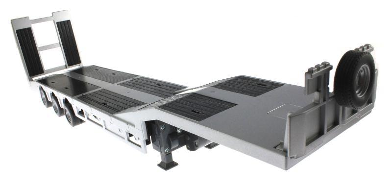 Siku 6723 - Elektronischer 3-Achs Auflieger Control-32 unten vorne rechts