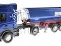 Siku 6725 - Scania mit Muldenkipper Control 32 vorne links
